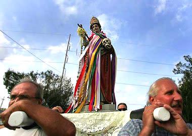 St. Rosalie Procession