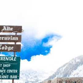 Alta sign