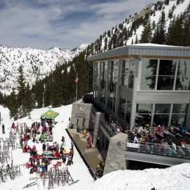 Looking for on mountain eats? Watson Shelter is the place to go. Photo: Lee Cohen
