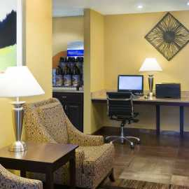 Free Internet through out the hotel, free Business Center open 24 hours