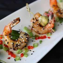 Chilled Shrimp Skewer