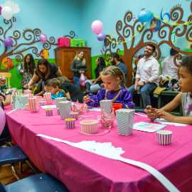 Birthday party at Discovery Gateway Children's Museum