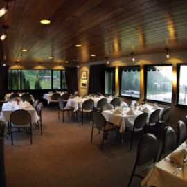 Private dining room during summer season