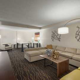 Deluxe Suite Sitting Area