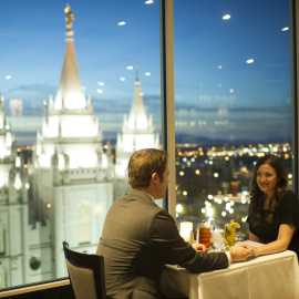 Dining at The Roof
