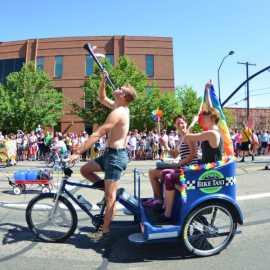 Eric-Preston Moroni at Utah Pride Parade 2014