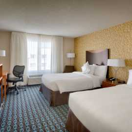 Double Double Rooms at the Fairfield Inn and Suites by Marriott Salt Lake City Airport