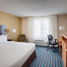 King Rooms at the Fairfield Inn and Suites by Marriott Salt Lake City Airport