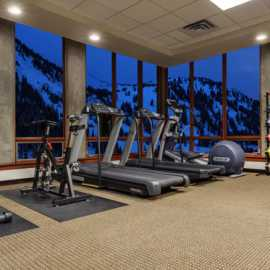 Alta's Rustler Lodge- Fitness Room