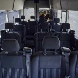 Ford Transit Inside
