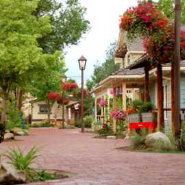 Walk the brick paths of Gardner Village and discover locally-owned boutique shops.