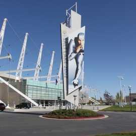 Utah Olympic Oval Exterior