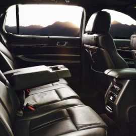 Lincoln Town Car inside
