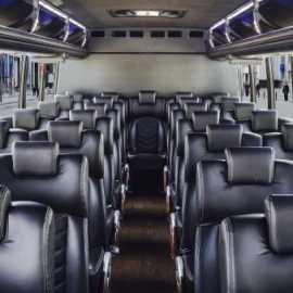 Mini Bus inside