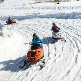 Mini-Snowmobiles