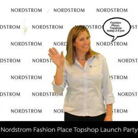 Customized Digital Step and Repeat Green Screens