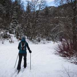 Millcreek Canyon Nordic Skiing