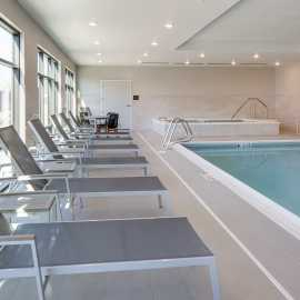 Pool and 12-man Whirlpool