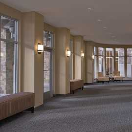 Hyatt House Salt Lake City / Sandy pre-function space