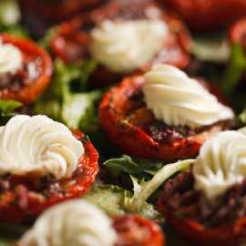 Roasted Tomato, Fontina Cheese