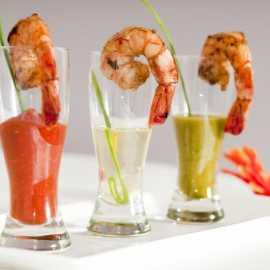 Trio of Shrimp Shooters