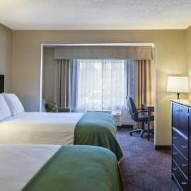 Double Queen Beds, Sofa Sleeper in our Queen Suite rooms