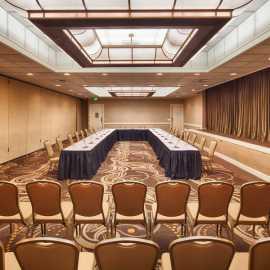 Meeting Room U-Shape Setting