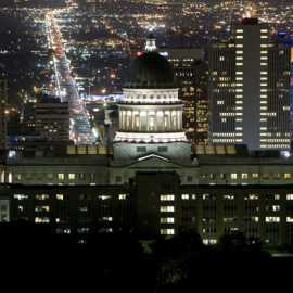 night and city