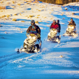 Backcountry Snowmobiling image