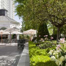 Garden Cafe Patio Dining