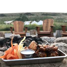 Appetizers by the Fire, Campfire Grill Restaurant