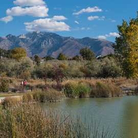 The Midas Pond on Jordan River Parkway, photo by Kyle Jenkins