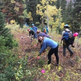 National Trails Day with the Cottonwood Canyons Foundation