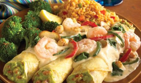 Abuelos Restaurants Merrillville Enchilada de Cozumel