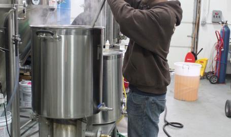 Brewing at St John Malt Bros Brewery