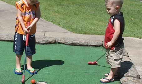 Cedar Creek Mini Golf Kids Cedar Lake