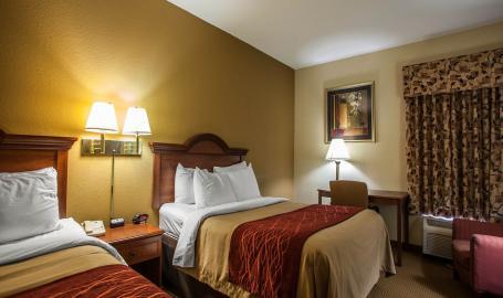 Comfort Inn Hotel Michigan City double
