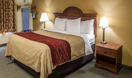 Comfort Inn Michigan City guest room
