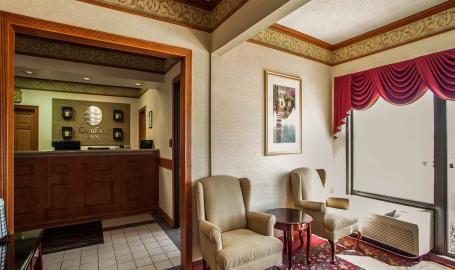 Comfort Inn Hotel Michigan City lobby
