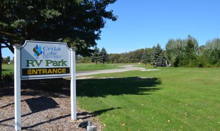 RV Park Entrance