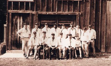 Deep River Grinders Baseball Team