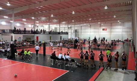 Diggz Volleyball teams playing