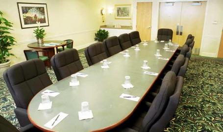 Hilton Garden Inn Chesterton boardroom