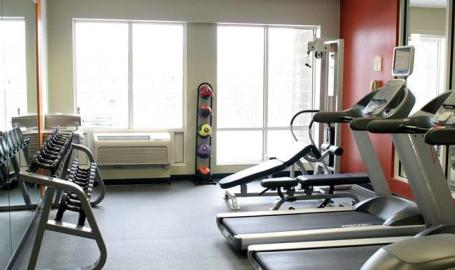 Hilton Garden Inn Chesterton fitness room