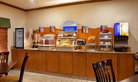 Holiday Inn Express Hotel Merrillville Breakfast