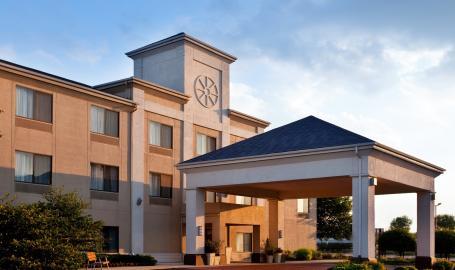 Holiday Inn Express Hotel Merrillville Exterior