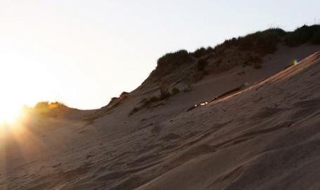 Indiana Dunes Mount Baldy Sunrise