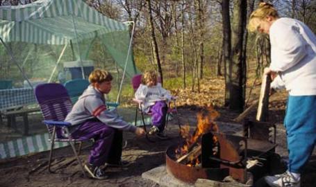 Indiana Dunes National Lakeshore Camping