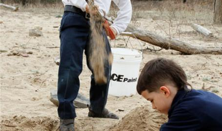 Indiana Dunes National Lakeshore Nature Play Zone