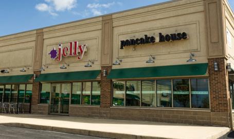 Jellys Pancake House Restaurants Dyer Exterior